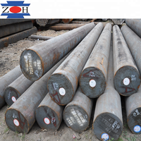 China Manufacture aisi sae 4340 forged round bar 40CrNi2MoA structural alloy steel