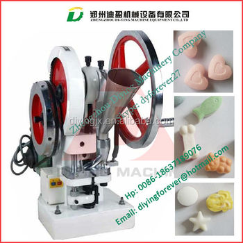 5-25mm Single punch TDP tablet press machine/ Candy tablet press machine/ Calcium tablet press machine