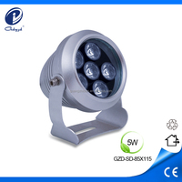 high quality 5W waterproof outdoor garden pin spot light