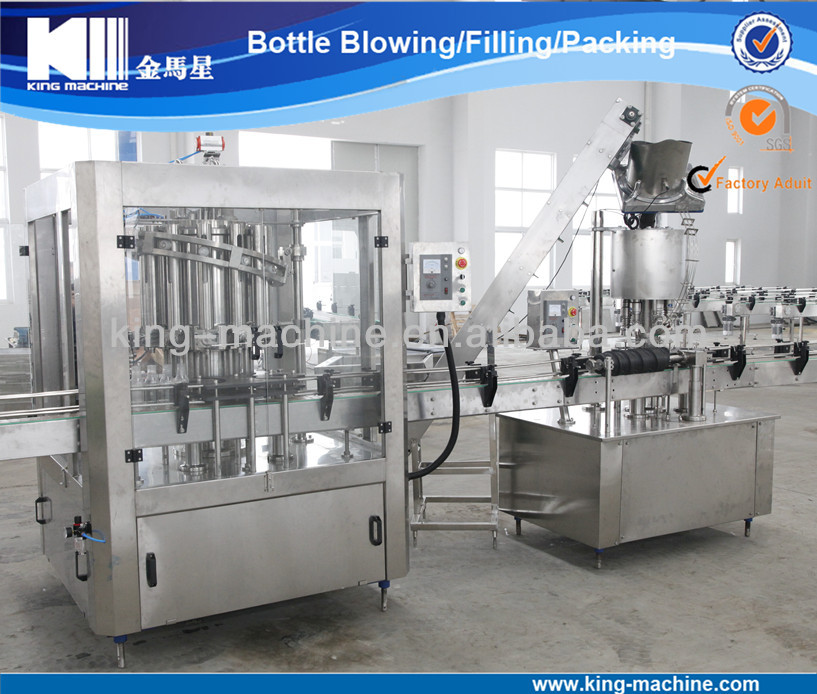 Full Automatic PET Bottle Tomato Sauce Bottling Production Line / Product / Machine KING MACHINE