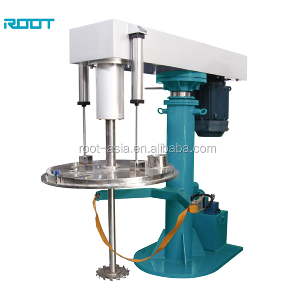 Root paint and ink high speed disperser