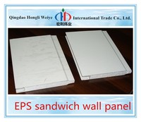 Easy instalation metal steel surface sips kingspan EPS sandwich wall panel with good price