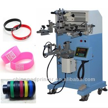 Silicone bracelet screen printer supplies bottle screen printing machine
