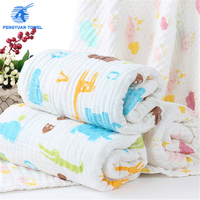 Baby Blanket Manufacturers China 100 Percent Cotton Muslin Swaddle Blanket baby