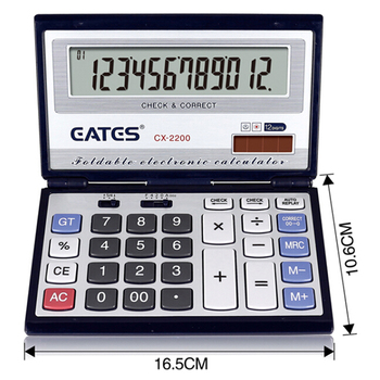 12 digit Promotion Calculator Solar /Pocket calculator with factory price