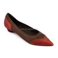 China online shop fashion women shoes high grade comfortable walking shoes mix colors leather shoes