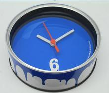 Promotion Gifts Can Clock with Stand at Back