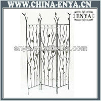 2013 New Home Decorative Metal Folding Screen, Antique Divider