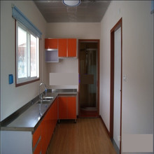 Step by step all odds prefabricated container kitchen
