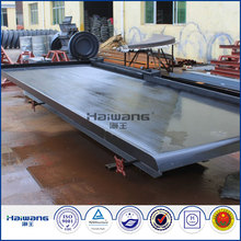 Haiwang Industrial Shaker Table / Shaking Table Separation / Small Gold Shaker Table For Sale