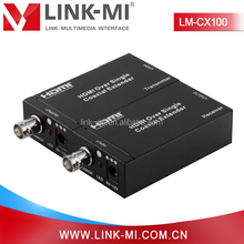 LINK-MI LM-CX100 100m RG6 Coaxial Cable HDMI to Coax Extender