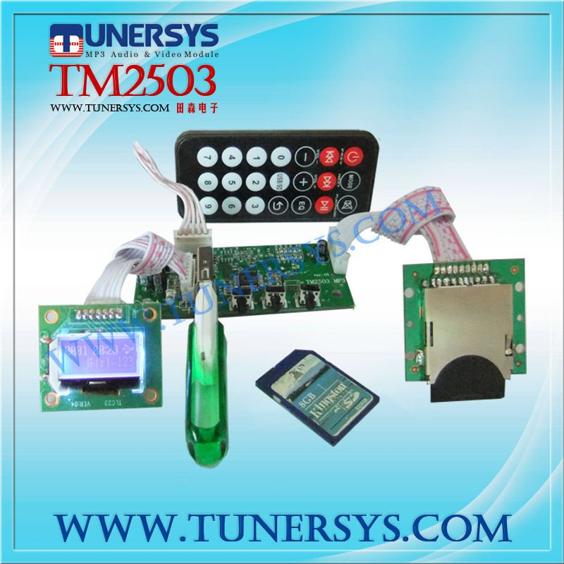 Tunersys-TM2503 Audio mp3 converter