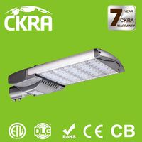 Energy saving CE ROHS ETL DLC approved hot selling cool white led street lamp