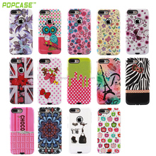 Hot Selling 2017 Gummy Combo PC and TPU Phone Case for Iphone 7/7plus
