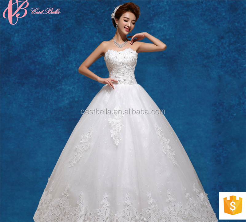 2017 Sparkling China Custom Made Wholesale Guangzhou Wedding Dresses