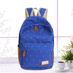 New product fashion canvas backpack for unisex