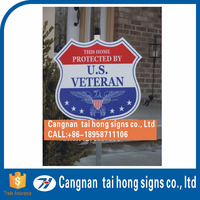 High-quality full-color UV printing sign board stickers