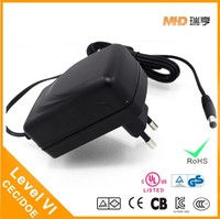 Universal 12V 3A AC DC Power Adapter Supply with LEVEL VI