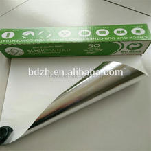Home Use 300mm*10M Silcone Coated Aluminum Foil Parchment Paper Roll
