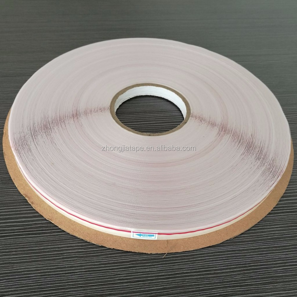 hot sale 05 series red line print PE adhesive tape