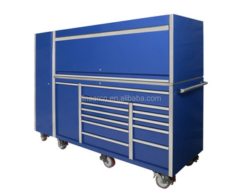 76 inch Cheap trade assurance heavy duty quality metal garage tool cabinet