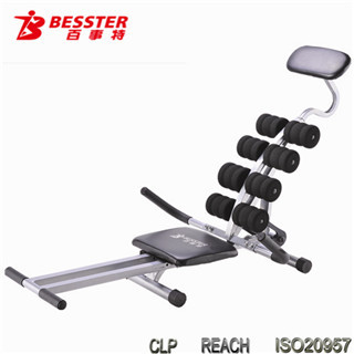 JS-006E 2014 Hot-selling SPIN BLACK POWER sit up ab shaper abdominal special machinery