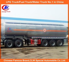 Stainless Steel Oil Tanker Trailer for sale for Aviation Kerosene Delivery