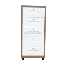 luoyang steel furniture 5 drawer cabinet office file cabinet
