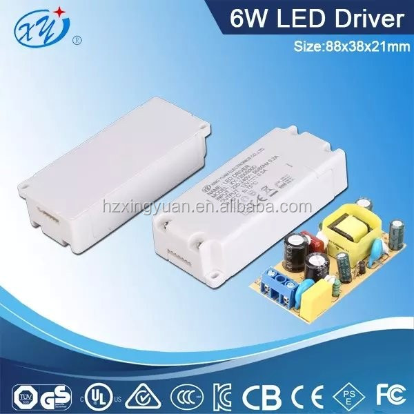 Built-in 6W 9V 0.7a Dimmable (8-12)X1W 70W Led Driver