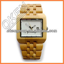 peal face lady wood watch