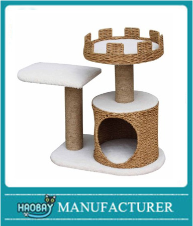 HsoBay Crown Nest Cat Tree,Treehouse for cats,activity centre