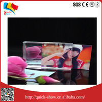 Popular style good quality Transparent acrylic paperweight stand