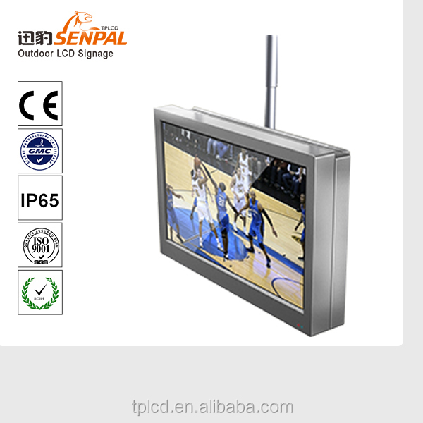 32 inch high brightness android tablet wall mount touch screen lcd/led tv advertising outdoor