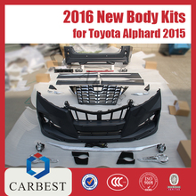 High Quality New Toyota Body Kit for 2015 Alphard 2012-2013
