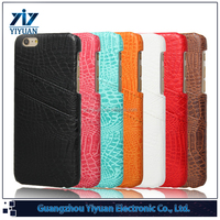 5.5inch Phone Leather Case with Card Slot for iPhone 6S Plus Case