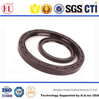 TC type TC 22x45x7 double lip metal cased Nitrile NBR Rubber Covered metric oil seal