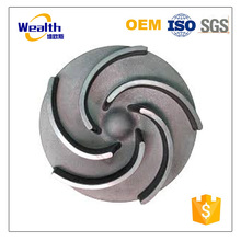 Customed iron casting electric water centrifugal pump impeller