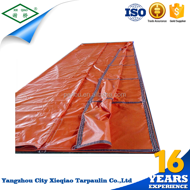 custom canvas vinyl oxford poly tarp truck cover translucent pvc tarpaulin