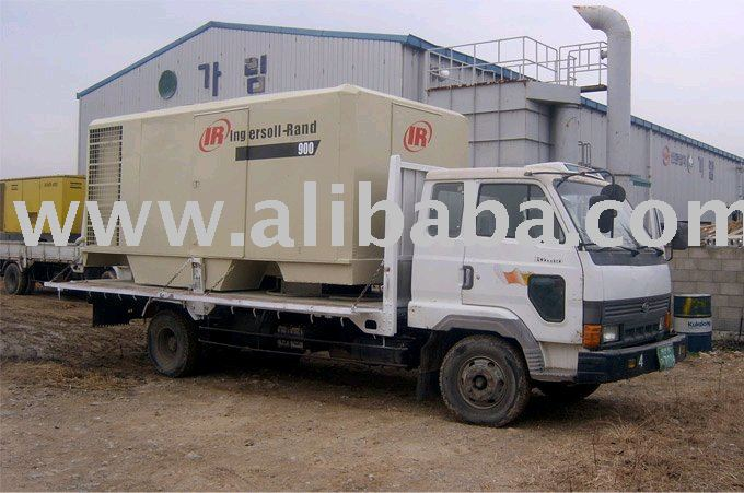 Used portable air compressor