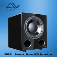 SUB12 Powered Home HiFi Subwoofer 100W 12 inch active subwoofer