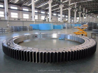 crossed rolled turntable bearing for ladle turret
