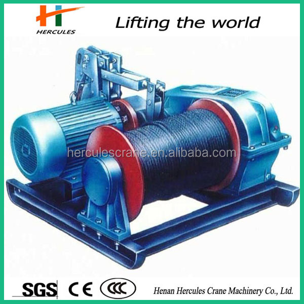 Hot sale 1 ton hydraulic winch for Mine factory use