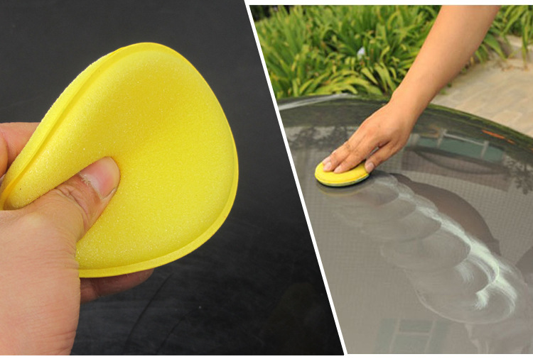 Car Cleaning Tire Dressing Applicator Sponge Wax Applicator Pads