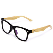 2020 new Fashion Glasses Frame Clear Lens For Women Men Vintage Myopia Eye Glasses Frames Wooden Spectacle Frame