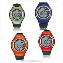 Spovan led wristband watch ,diamond jelly silicone ss.com watch, fitness pulse watch heart rate monitor