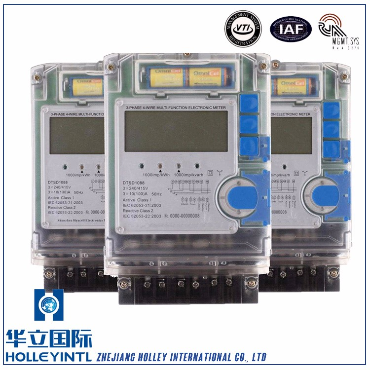 Communication optical port RS485 electric power meter,digital power meter,smart power meter