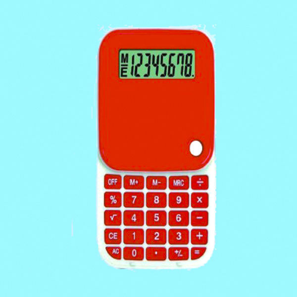 2016 Guangdong Rotating cover calculator,8 digit electronic calculator
