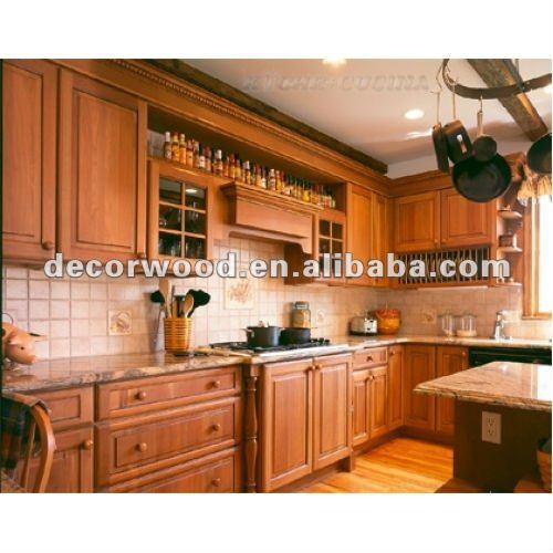 Oscuro color nogal mueble cocina cocinas identificaci n - Cocinas color nogal ...