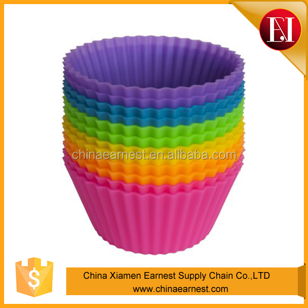 Hot selling food making productions ODM silicone jelly cake moulds