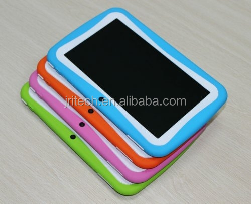 Silicone protective case for Android Kids Tablet, shockproof silicone case for Kids Tablet